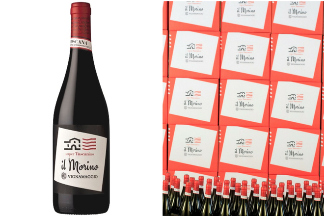 Morino New Label Wine